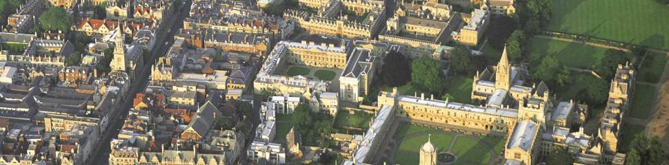 Oxford overhead view
