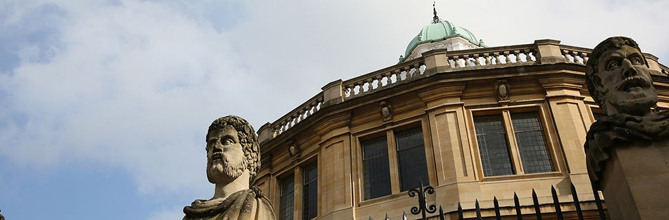 Sheldonian Literary Festival Events