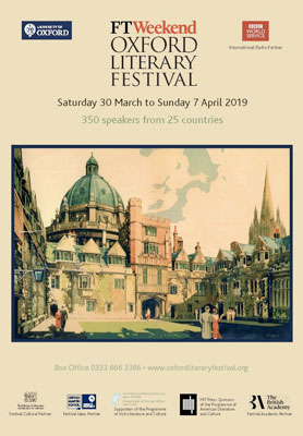 Oxford Literary Festival brochure 2019