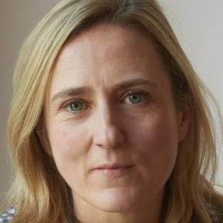 Author / Speaker holding image - Susie Boyt