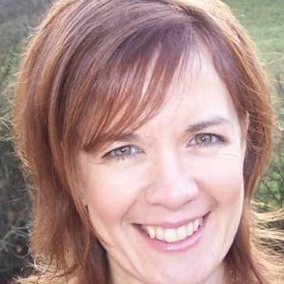 Author / Speaker holding image - Tracey Corderoy