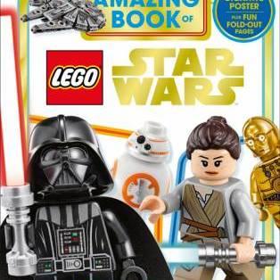 Author / Speaker holding image - LEGO