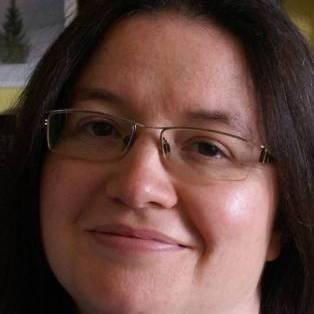 Author / Speaker holding image - Beatrice Groves