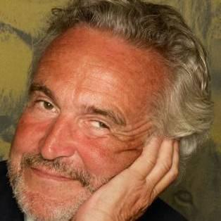 Author / Speaker holding image - Stephen Bayley