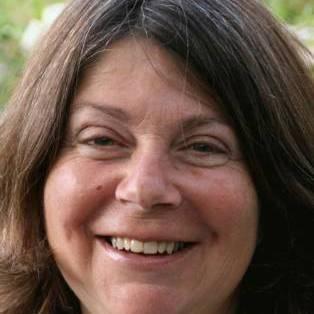 Author / Speaker holding image - Julia Green