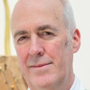 Author / Speaker holding image - Charles Saumarez Smith