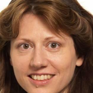 Author / Speaker holding image - Katherine Blundell