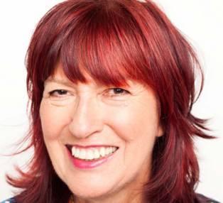 Author / Speaker holding image - Janet Street Porter