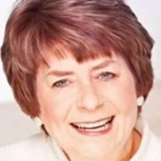 Author / Speaker holding image - Pam Ayres