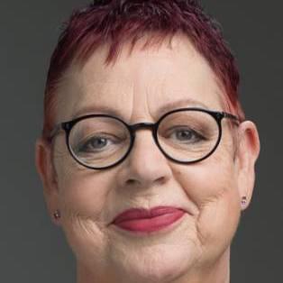 Author / Speaker holding image - Jo Brand