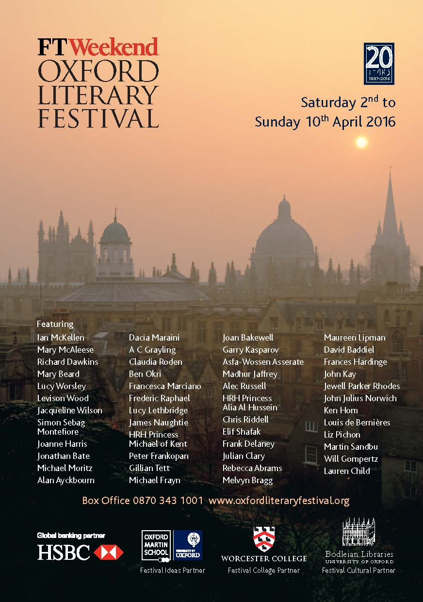 Oxford Literary Festival brochure 2016