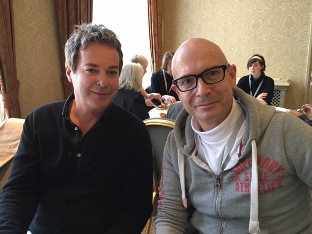Julian Clary and Jeremy Smith