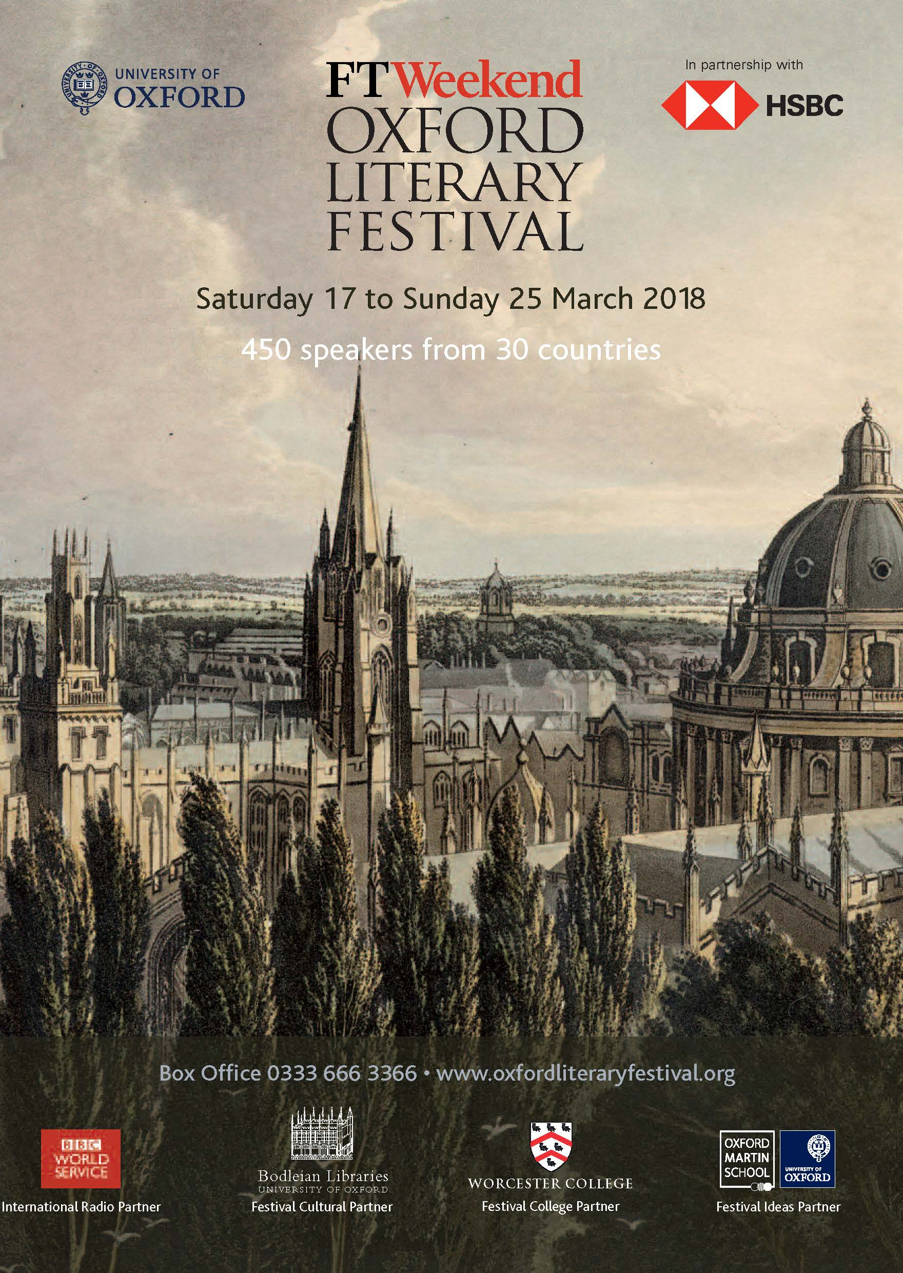Oxford Literary Festival brochure 2018