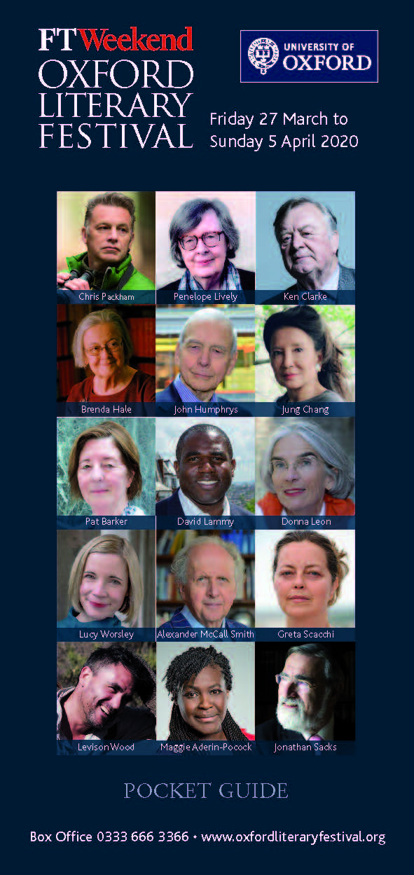 Oxford Literary Festival pocket guide 2020