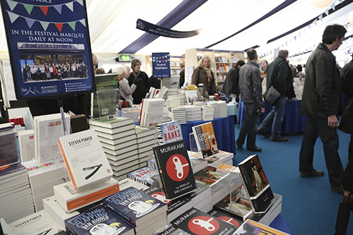 Blackwell's marquee